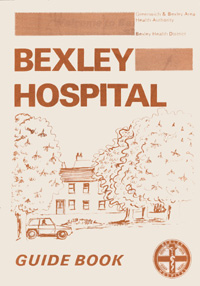 Bexley Hospital Guide Book from 1977